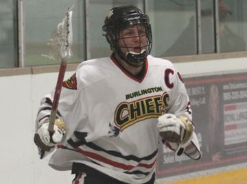 Apers racks up 11 points in Burlington Chiefs victory