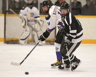 The Eastview Wildcats fell to Patrick Fogarty in the GBSSA Boys AAA/AAAA Championship Tuesday at Eastview Arena.