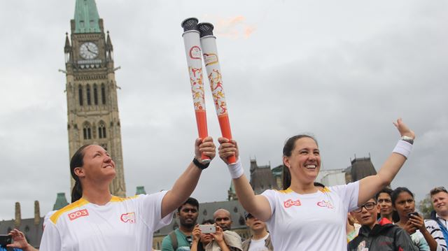 Parapan Am torch on the way