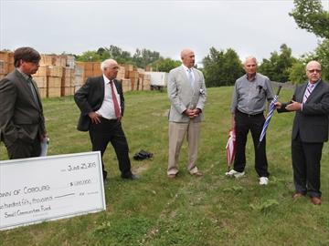 Midown Creek funding announcement