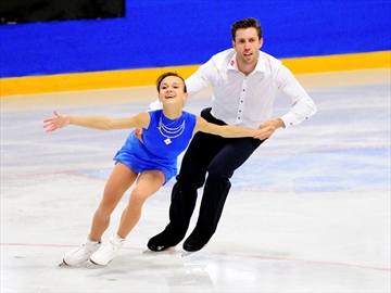 Lubov Iliushechkina and Dylan Moscovitch