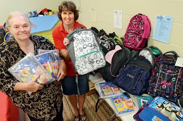 Previous Sally Ann backpack drive