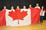 Peace Tower flag presented to Midland Secondary School