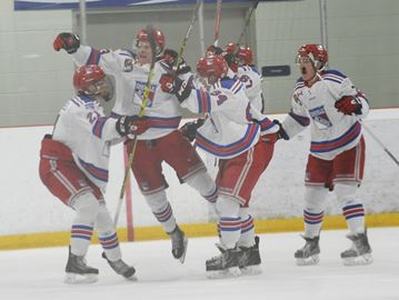 Oakville Blades rally to edge Burlington Cougars in overtime