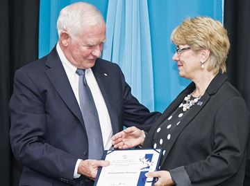 Woman first from Midland to receive Caring Canadian Award