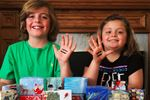 Valens siblings box up the Christmas spirit