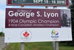 Signs honouring George Lyon put up at entrances to Richmond