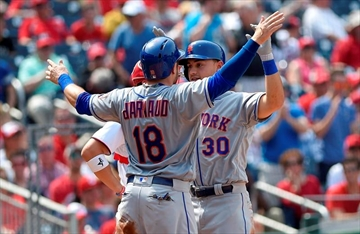 Conforto's 2 home runs power Mets past Nationals 5-3-Image1