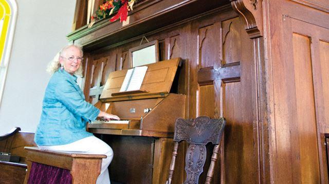 Smithville Presbyterian church organ