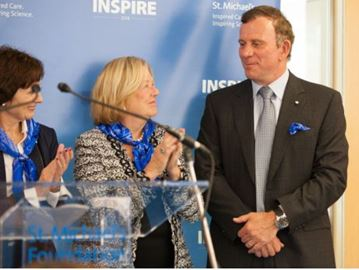 Oakville's Peter Gilgan donating $30 million to St. Michael's Hospital