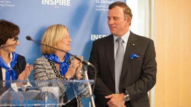 Oakville's Peter Gilgan donating $30 million to St. Michael's Hospital