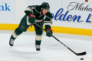 Quarantined Parise, Pominville out for Wild with mumps-Image1