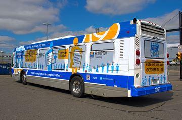 Brampton's Voting Bus