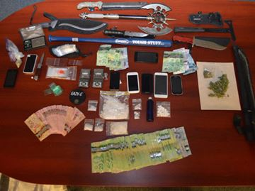 Drugs, weapons seized in Port Colborne bust