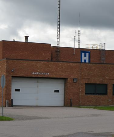 Ambulance station in Sturgeon Falls