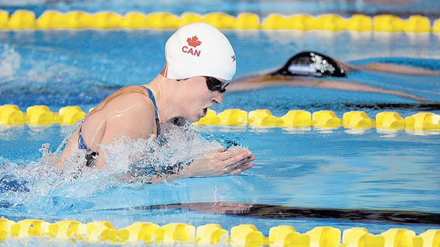 Canadian Swimmers Olympic And Paralympic Hopes On The Line In Scarborough At National Trials