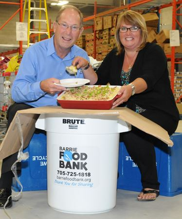 Barrie Food Bank sells out first mac and cheese fundraiser