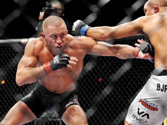 Georges St. Pierre is the fighter who hated fighting