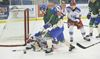 Blades battle crosstown rivals Cougars