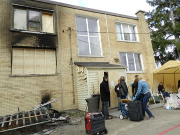 Charges laid in fatal London fire