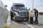 Truck spills diesel fuel on QEW through Burlington