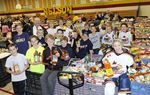 9th annual Gift of Giving Back Community Food Drive
