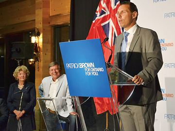 Patrick Brown wins Simcoe North byelection
