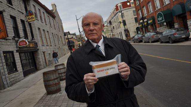 Anti-contraband group visits Halton to raise awareness about dangers of illegal cigarette trade