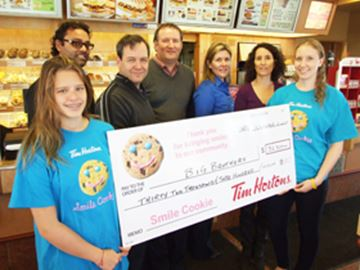 Orillia Smile Cookie campaign raises $32,300
