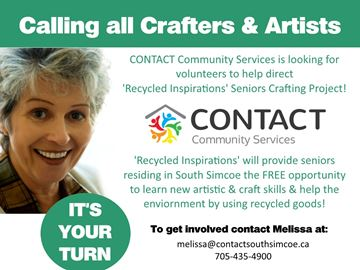 Volunteers needed for South Simcoe seniors' art program