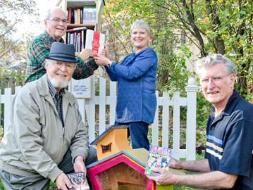 Little Free Libraries popping up in Grimsby