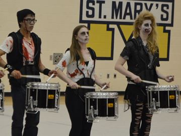 St. Mary's drumline performance resounding success at provincials