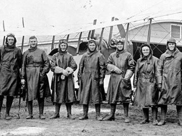 First flight at Base Borden