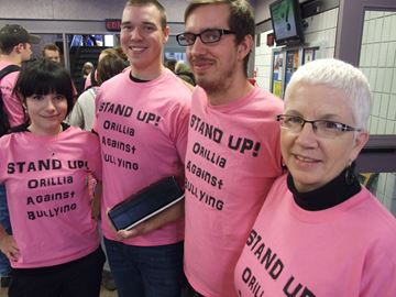 Orillia students take a stand against bullying