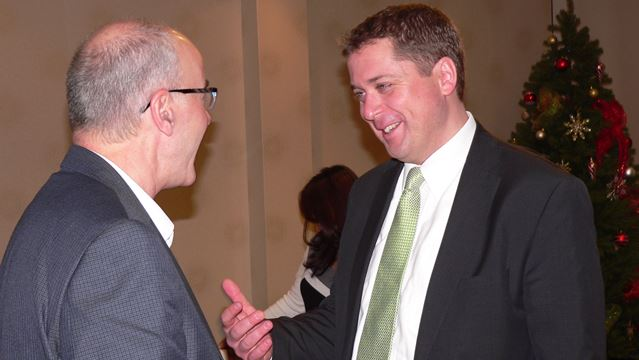 Federal Conservative leadership hopeful MP Andrew Scheer