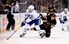 Matthews, Hyman score in 2nd, Maple Leafs beat Bruins 4-1-Image1