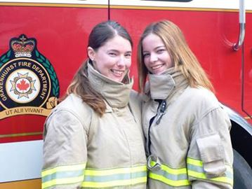 FEMALE FACES OF FIREFIGHTING
