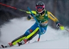 US skier Mikaela Shiffrin leads WCup slalom after 1st run-Image1