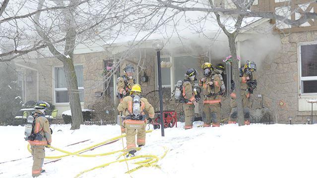 Heavy smoke conditions