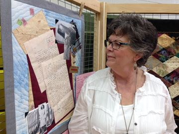 Maureen O'Neill and her parents' quilted love story