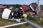 Crash shuts down Hwy 89 lanes at Airport Road