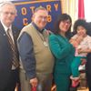 Rotarians helping family