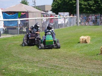 Alliston Potato Festival lawn tractor races Aug. 9