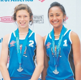 Bailey Rivera Win Silver At Beach Volleyball Nationals