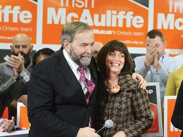 NDP rally