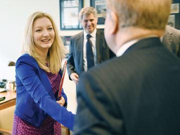 Jennifer O'Connell, Member of Parliament for Pickering-Uxbridge