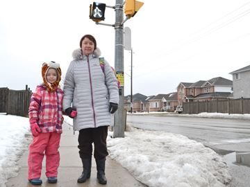 Grants fuel efforts to get more Barrie kids walking to school