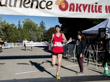 Wyatt runs away with Oakville Half Marathon title