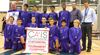 Hillfield Strathallan College U13 boys basketball team