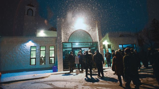 Mosque Shooting Video Gallery: Islamic Centre Of Oshawa Packed In Show Of Community After